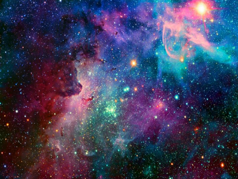 galaxy backgrounds for powerpoint templates ppt backgrounds