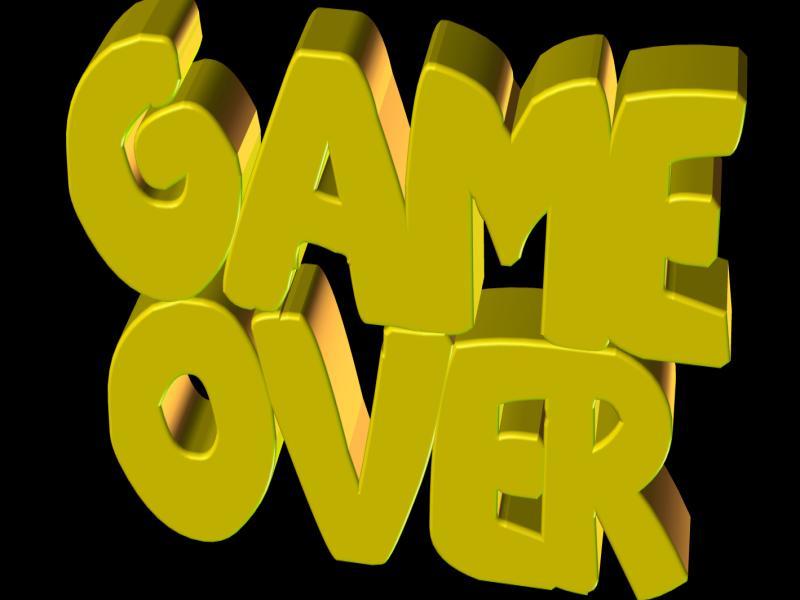 Game Over Png Transparent Download Backgrounds