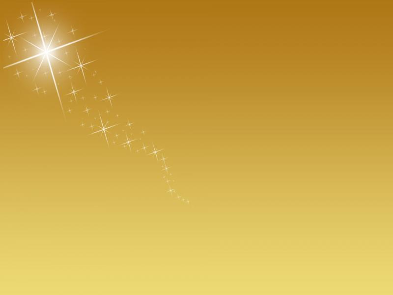 Golden With Sparkle Slides Backgrounds