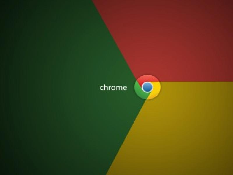 Google Chrome For PowerPoint Templates Wallpaper Backgrounds