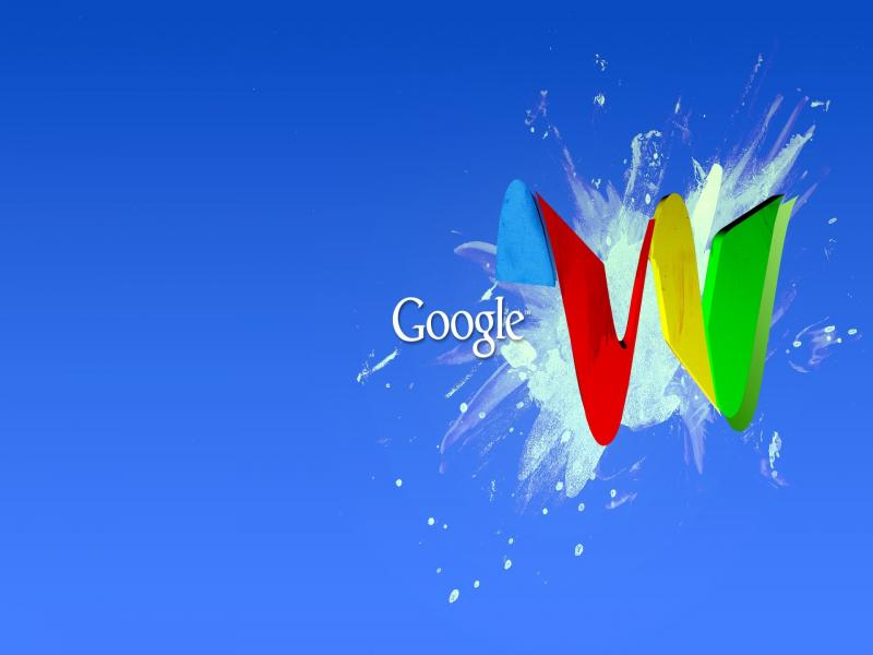 Google Waves PowerPoint  PPT Clip Art Backgrounds