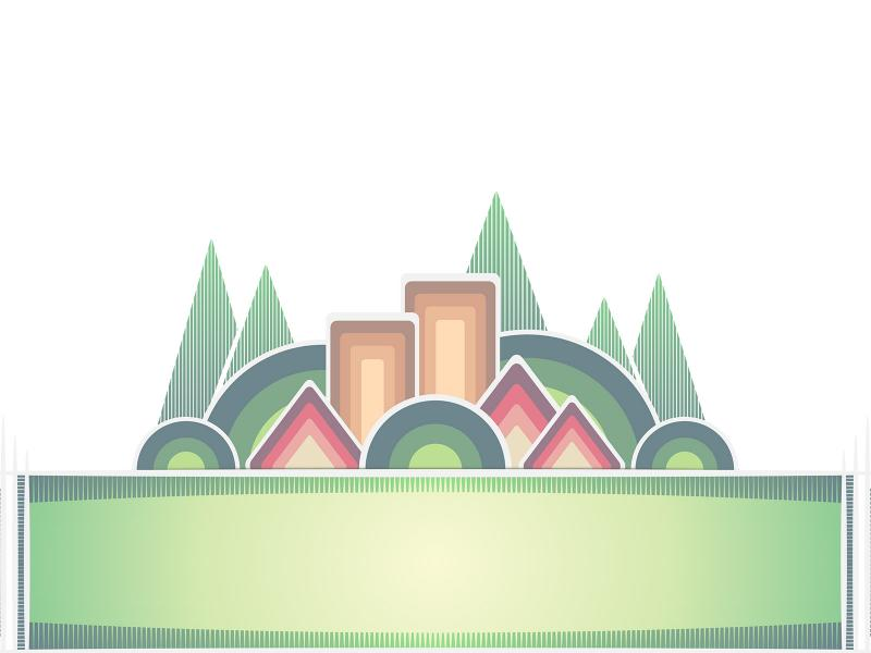 Green Banner Backgrounds