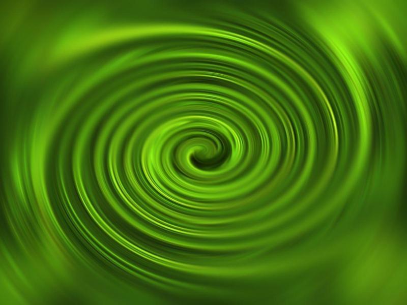 Green Fantastic Swirl Download Backgrounds
