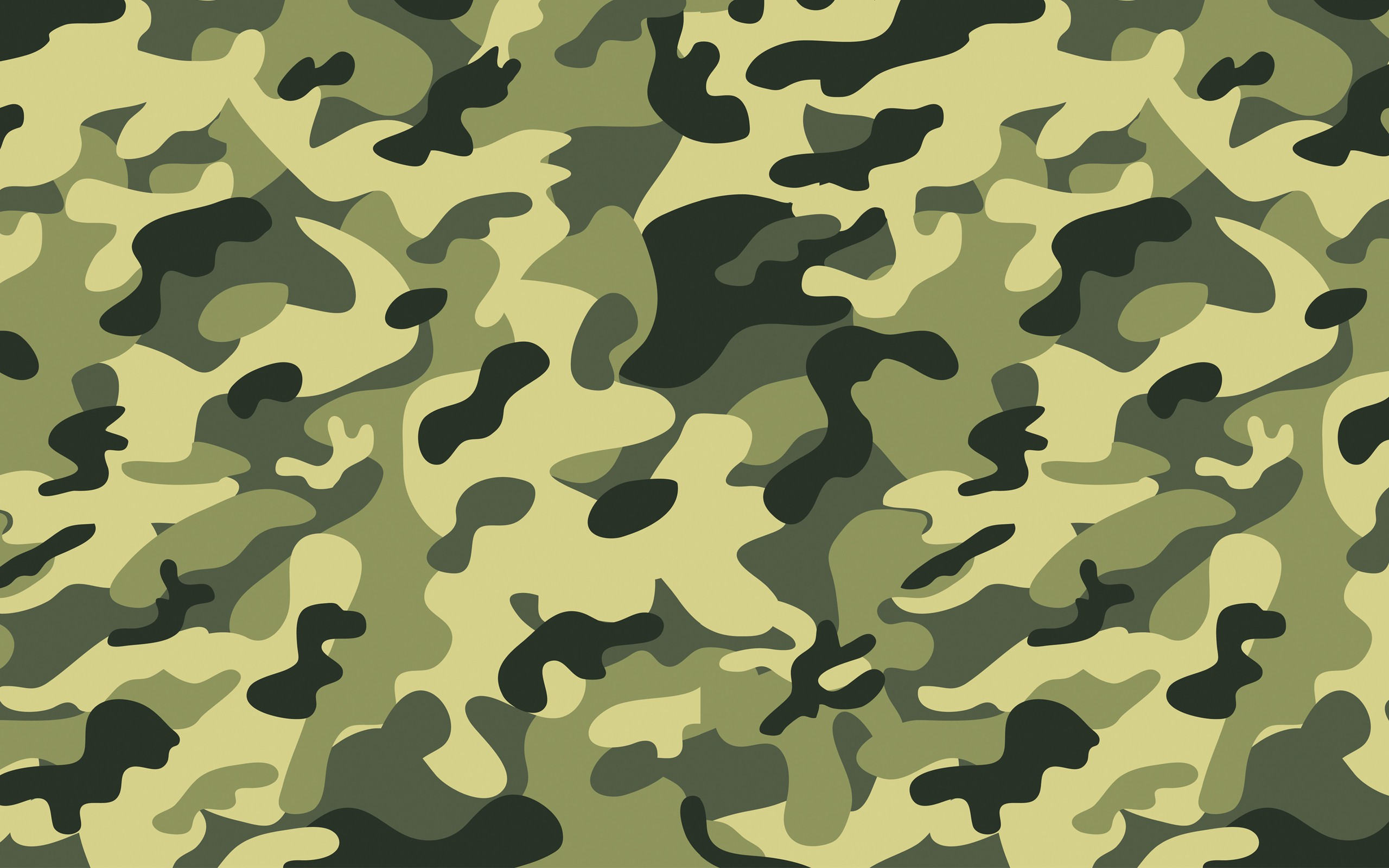 Green Minimalistic Military Camouflage Backgrounds