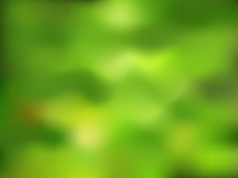 Green Nature Blurry Presentation Backgrounds