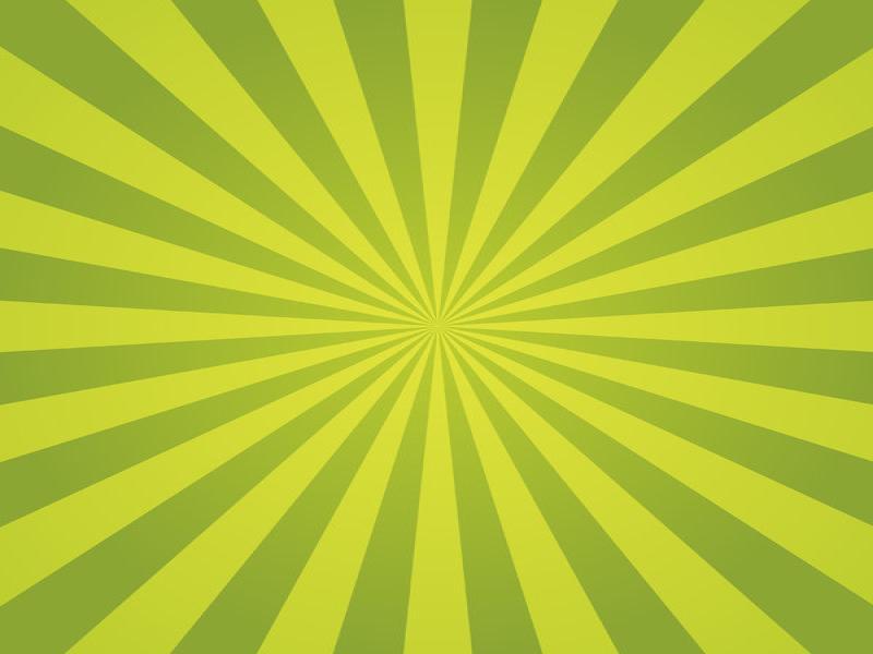 Green Sunburst Spring Backgrounds