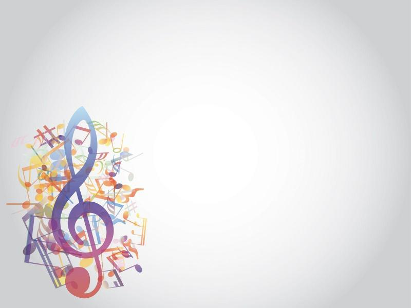 Grey Music Notes Wallpaper Backgrounds