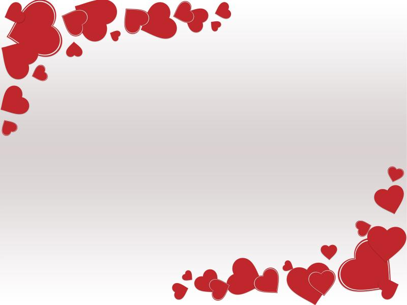 Grunge Valentine Day PPT Backgrounds