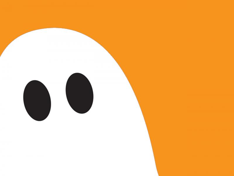 Halloween Ghost For Halloween Backgrounds For Powerpoint