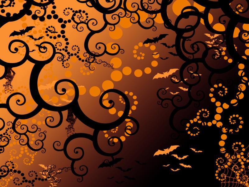 Halloween By GreenKiwiOfDoom Slides Backgrounds