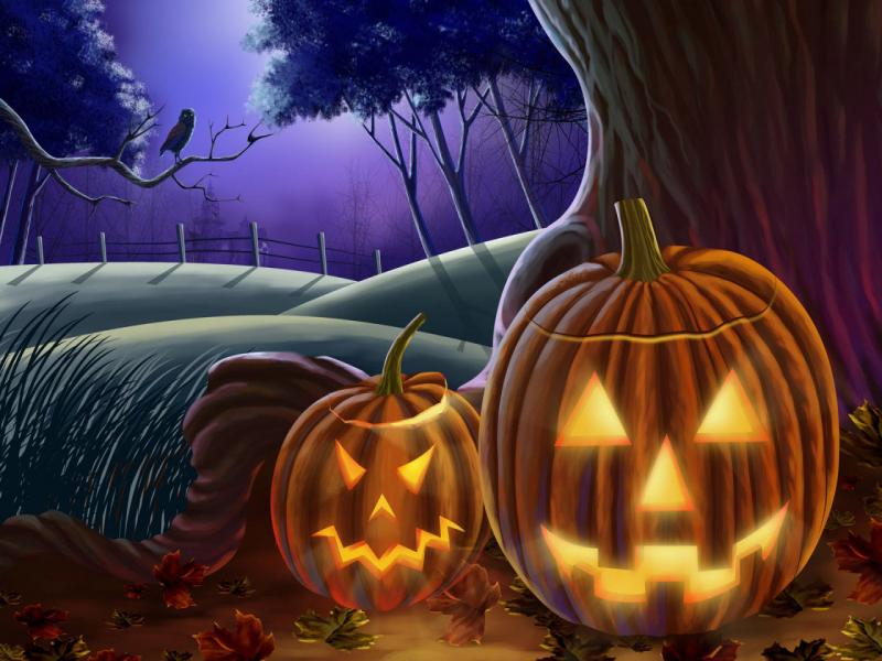 Halloween Quality Backgrounds