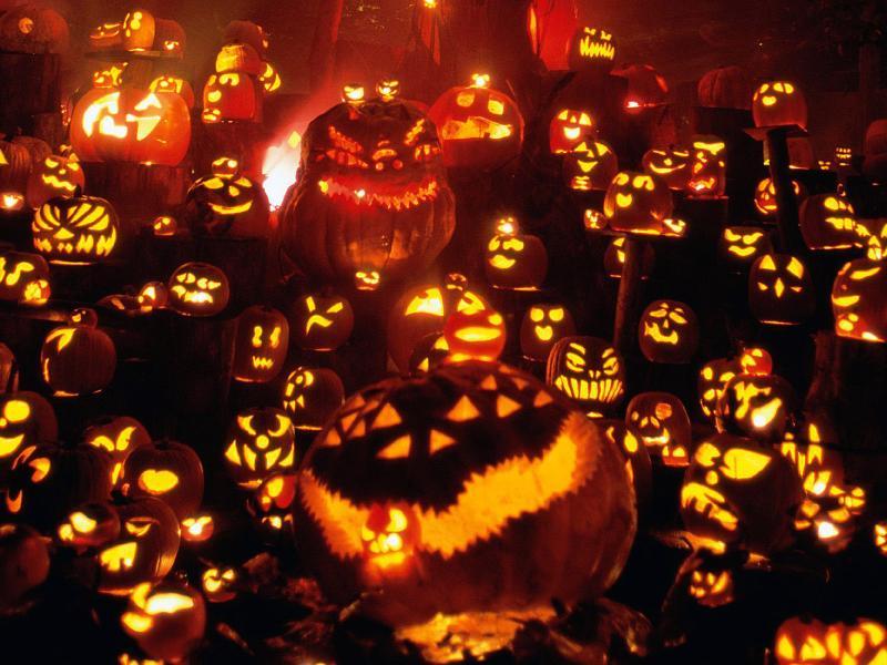 Halloween Slides Backgrounds