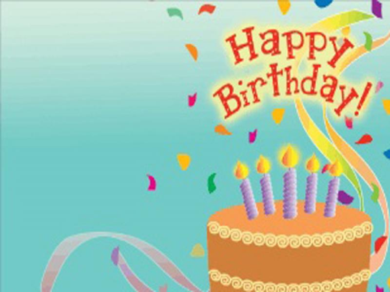 happy birthday backgrounds for powerpoint templates ppt
