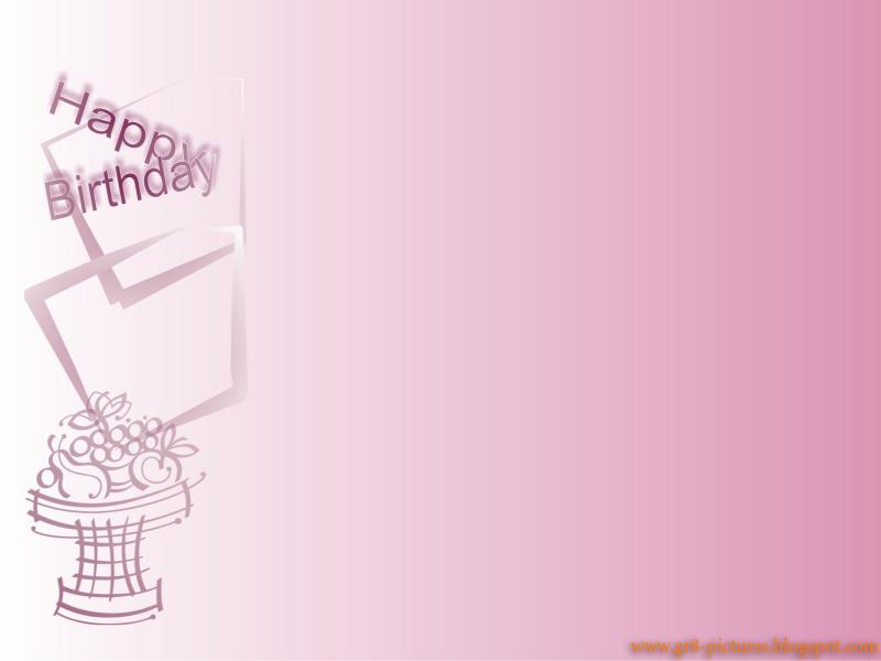 Happy Birthday Card Wallpaper Backgrounds