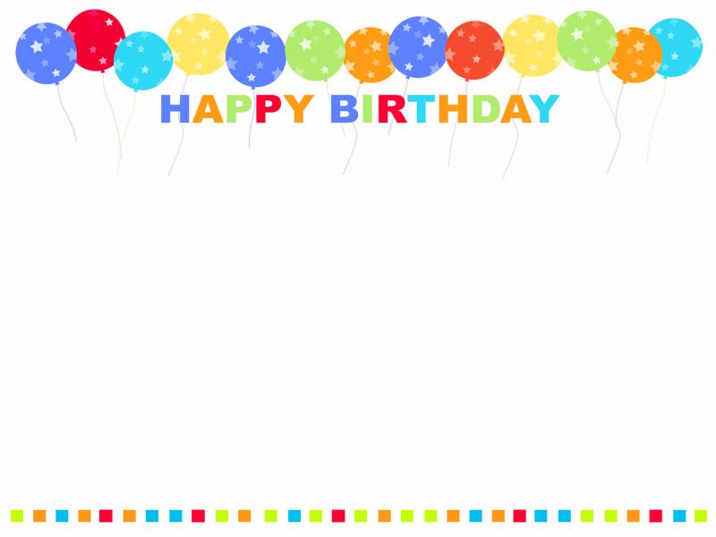 Happy Birthday Hd Hdss Template Backgrounds For Powerpoint
