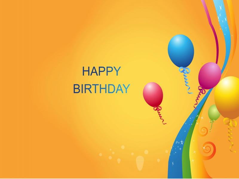 Happy Birthday Template Backgrounds