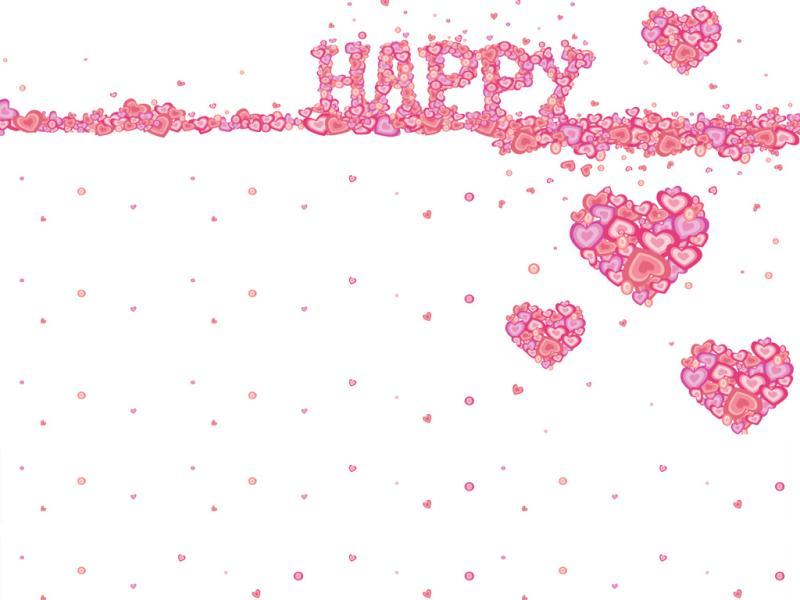 Happy Heart for Slide Backgrounds