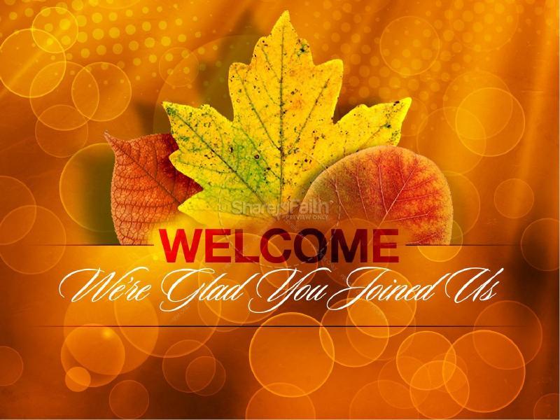 Happy Thanksgiving Template  Fall Thanksgiving  Slides Backgrounds