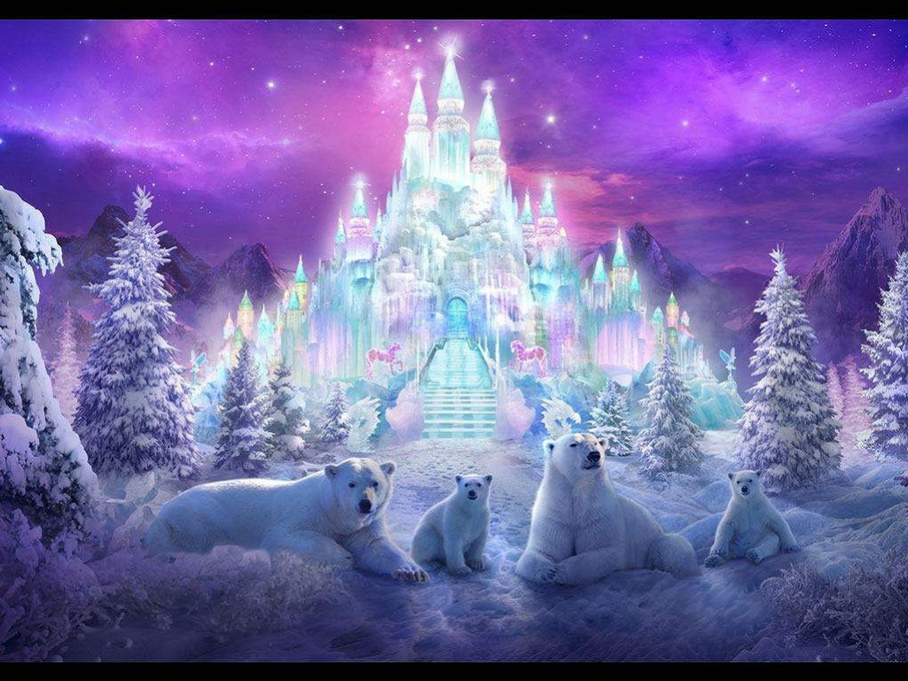 HD Magical Winter Backgrounds