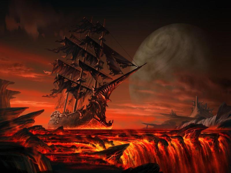 Hell Clipart Art Backgrounds