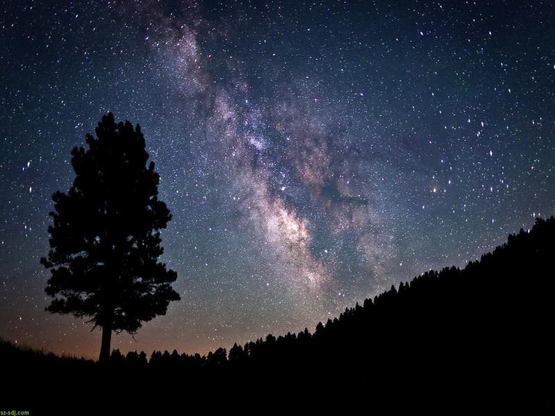 High Resolution Night Sky Desktop Backgrounds