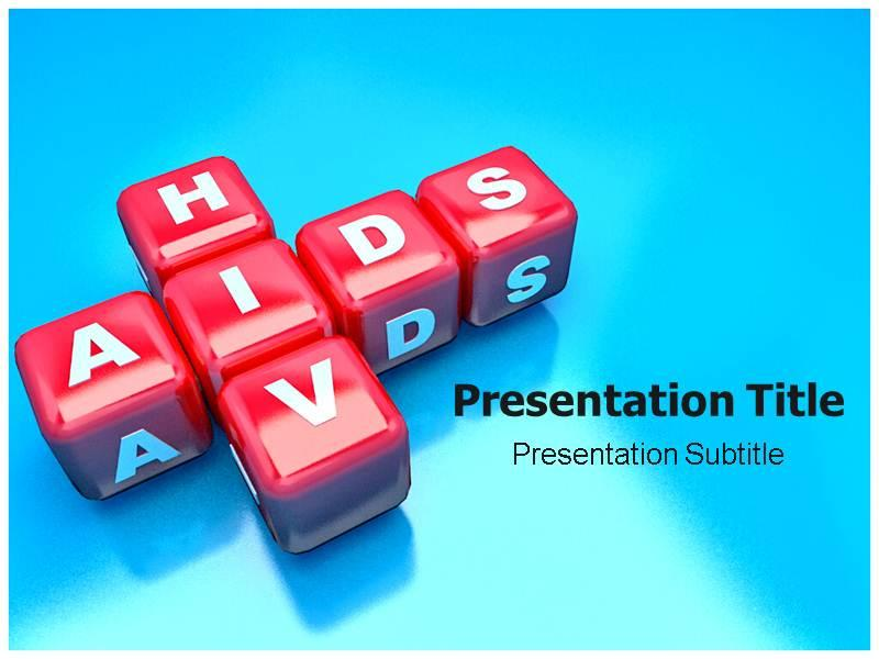 HIV Aids PowerPoint (PPT) Template PowerPoint Slides Template   Photo Backgrounds
