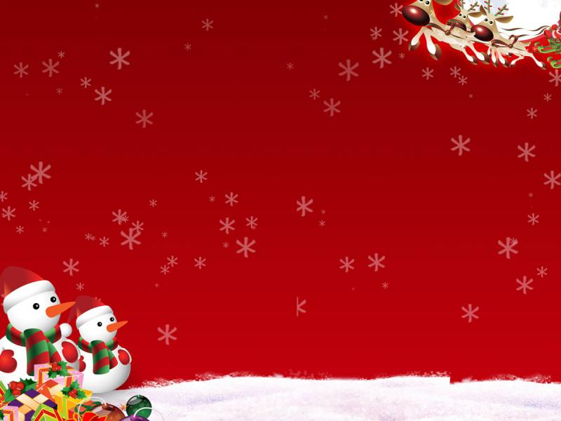 Holiday Christmas Holiday Photo PPT Backgrounds