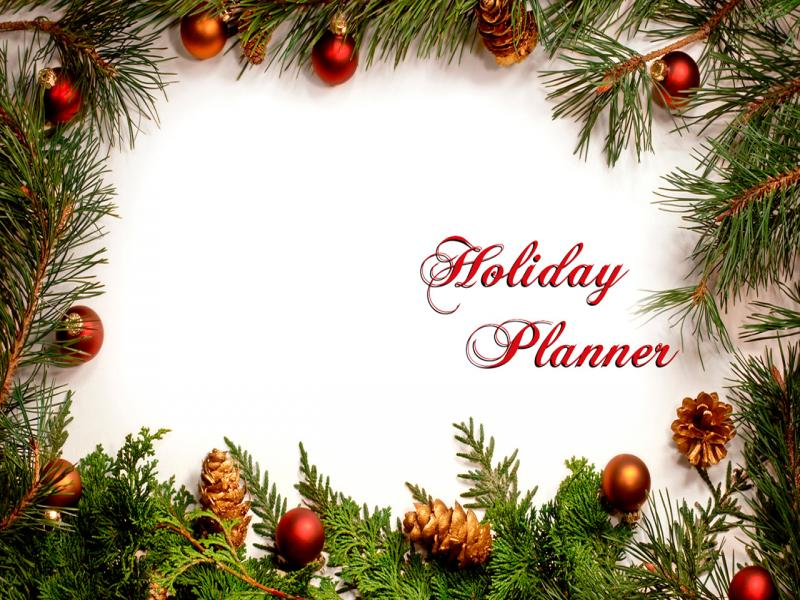 Holiday Frame Backgrounds