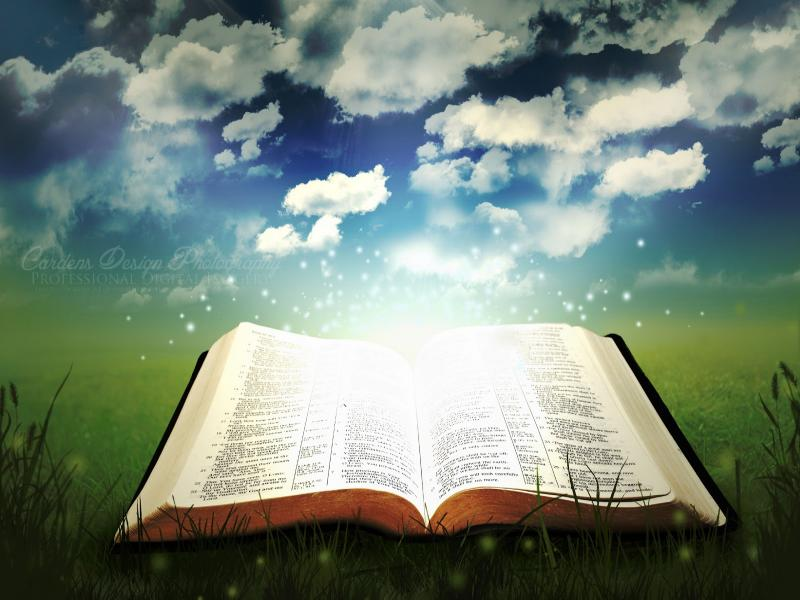 Holy Book Open Bible Quality Backgrounds