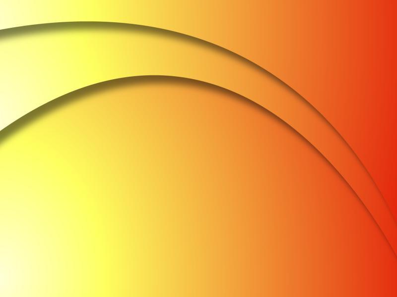 Hot Sunshine Curved Backgrounds