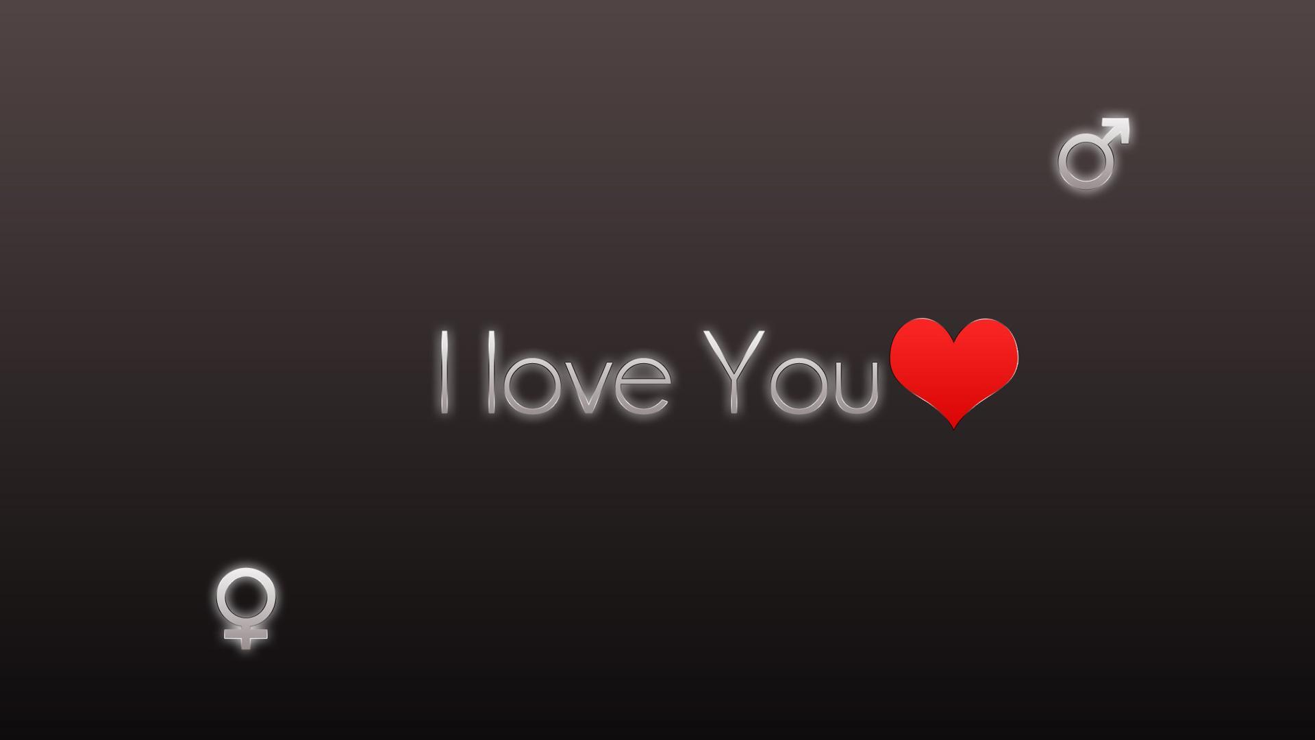 I Love You Heart Hd Backgrounds
