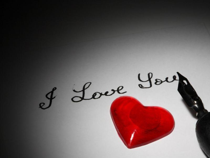 I Love You Wallpaper Art Backgrounds