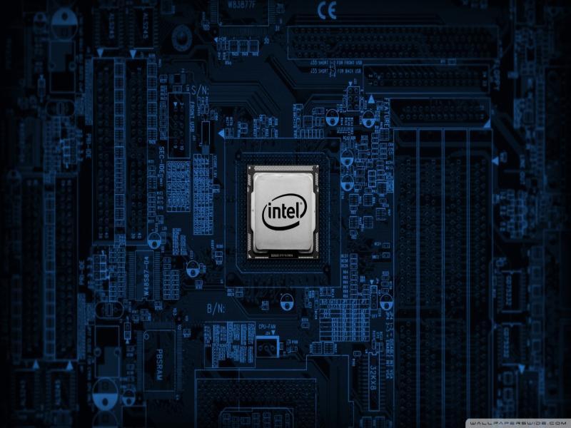 Intel Motherboard Design Backgrounds