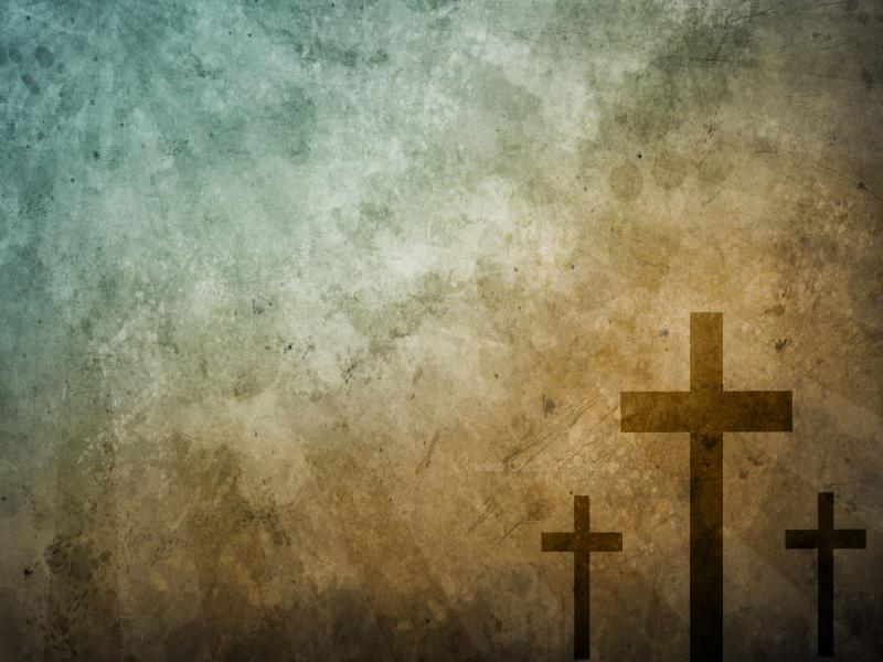 Jesus On The Cross Download Backgrounds For Powerpoint Templates