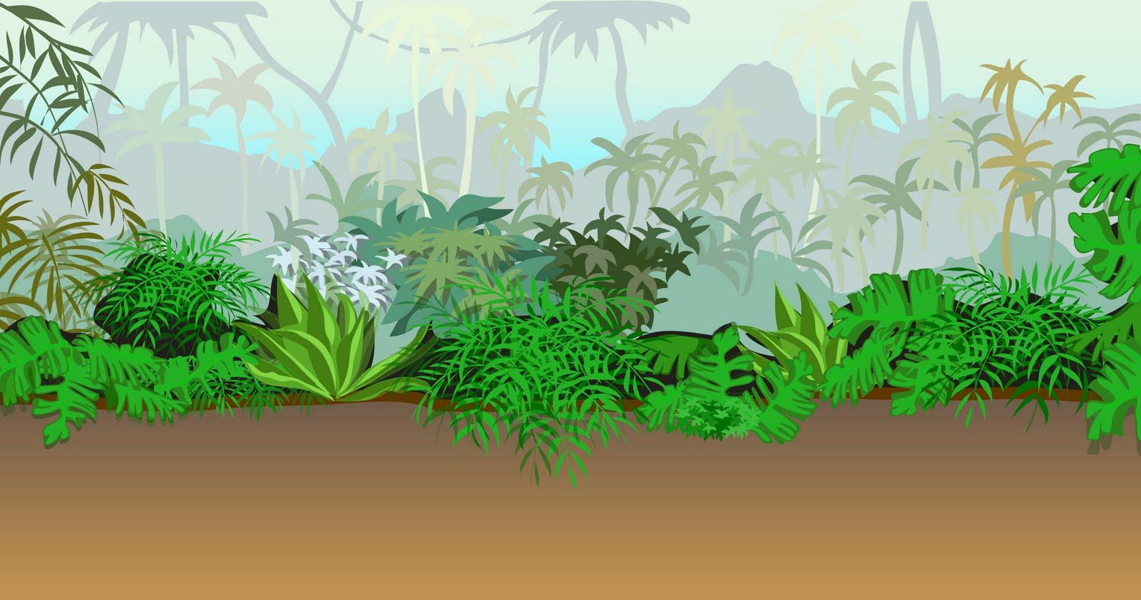 тропический лес картинка на прозрачном фоне подарочно-цветочного настроения