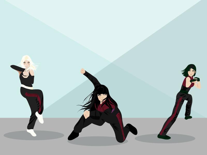 Kung Fu Sport Backgrounds