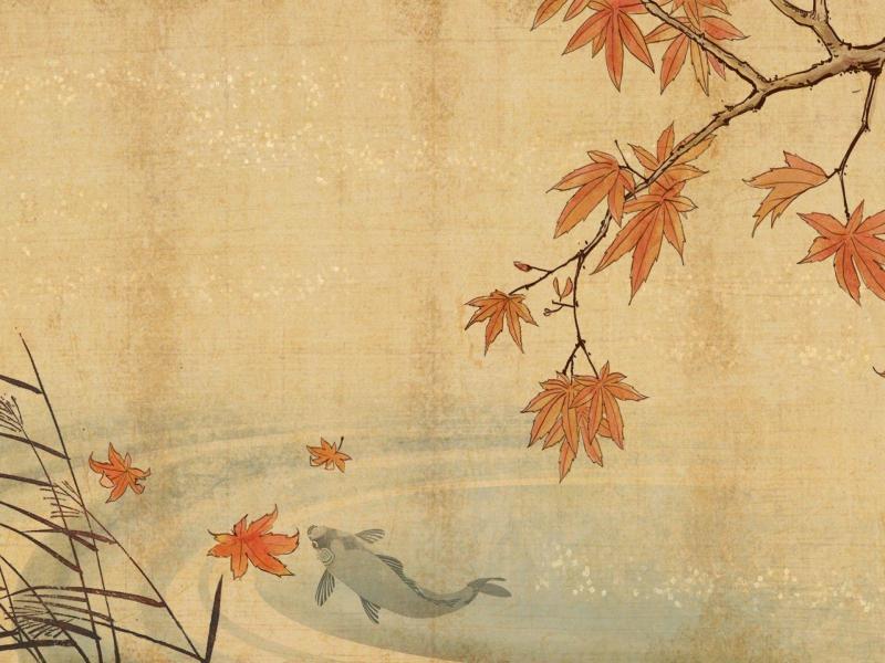 Light Japanese Art Backgrounds