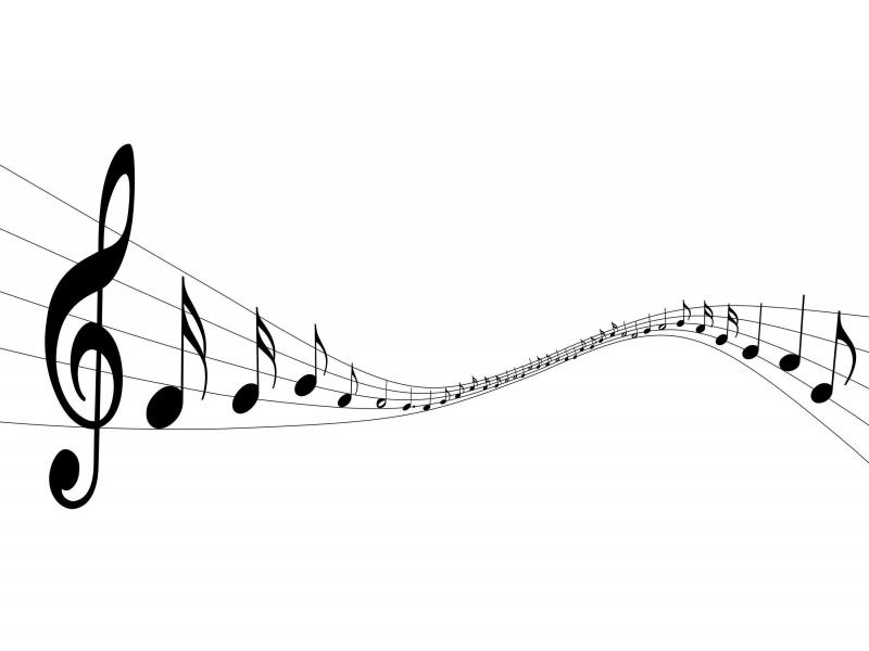 Light Music Note Quality Backgrounds
