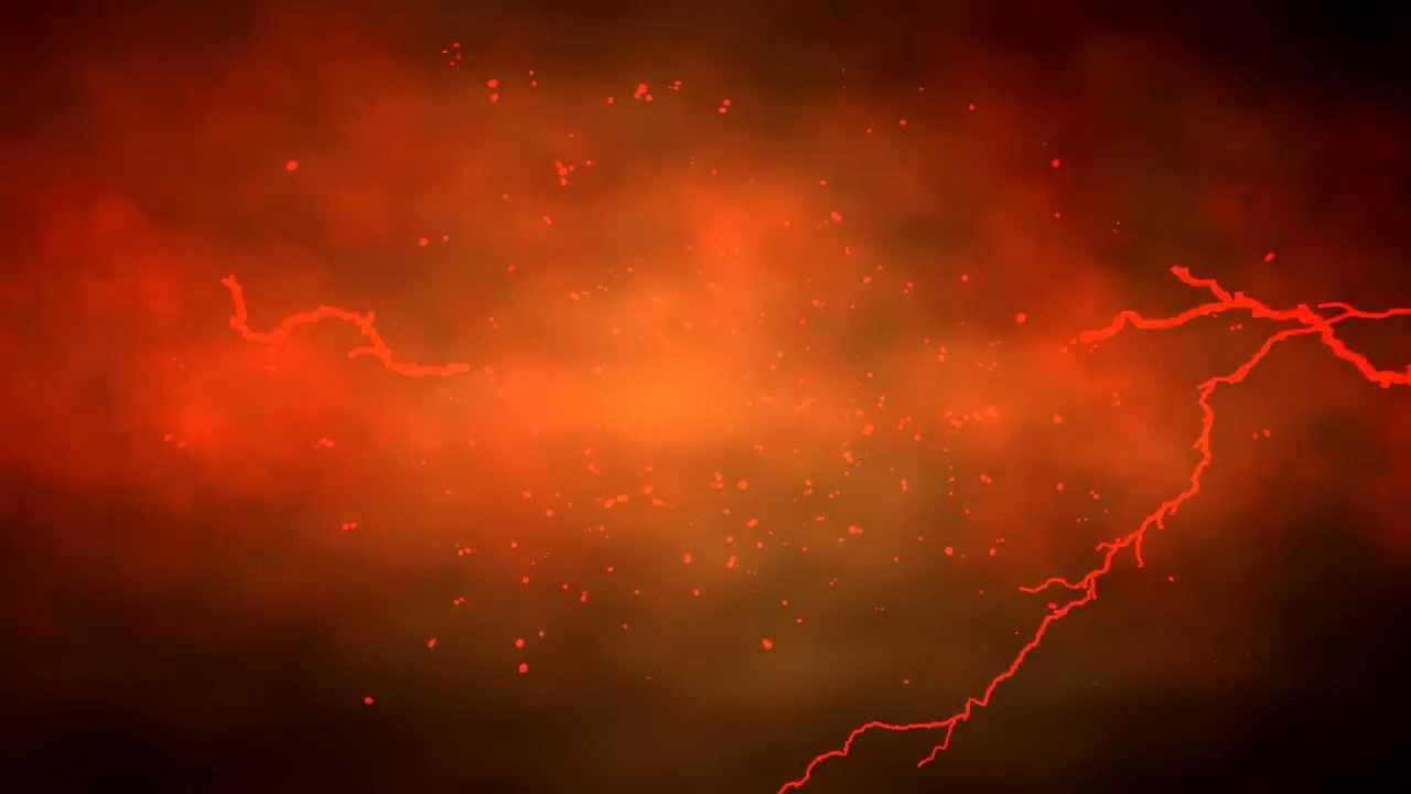 Lightning from Hell Scene Royalty Backgrounds