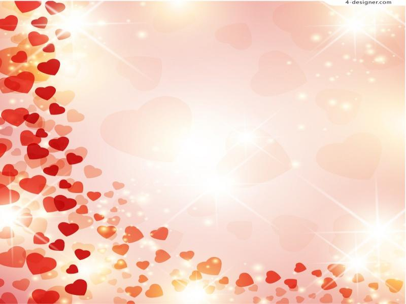 Love Vector Material Backgrounds