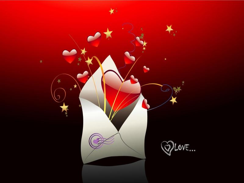 Love You HD Clipart Backgrounds