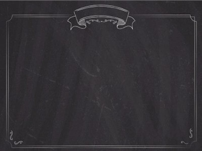Menu List Chalkboard With Border Wallpaper Backgrounds