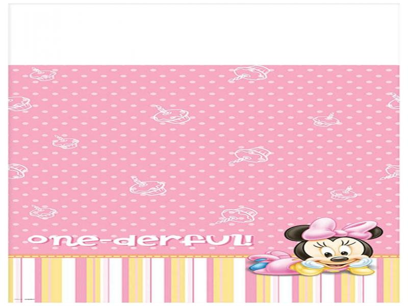 Minnie Mouse 1st Birthday Frame Backgrounds for Powerpoint Templates ...