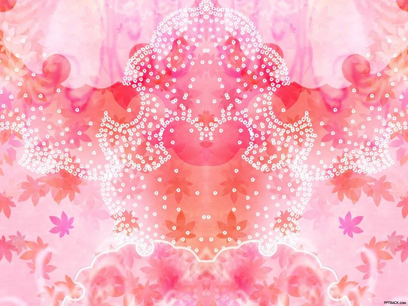 Modern Pink Flower Backgrounds
