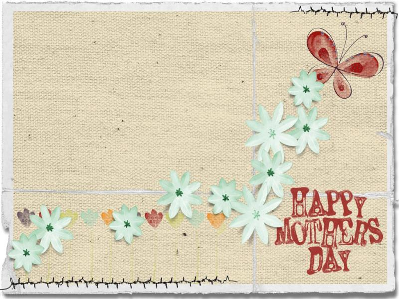 Mothers Day Frame Backgrounds for Powerpoint Templates - PPT