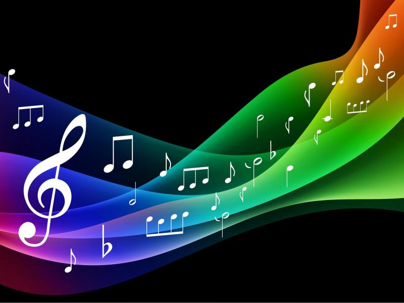Music Free Widescreen 2 HD   Frame Backgrounds