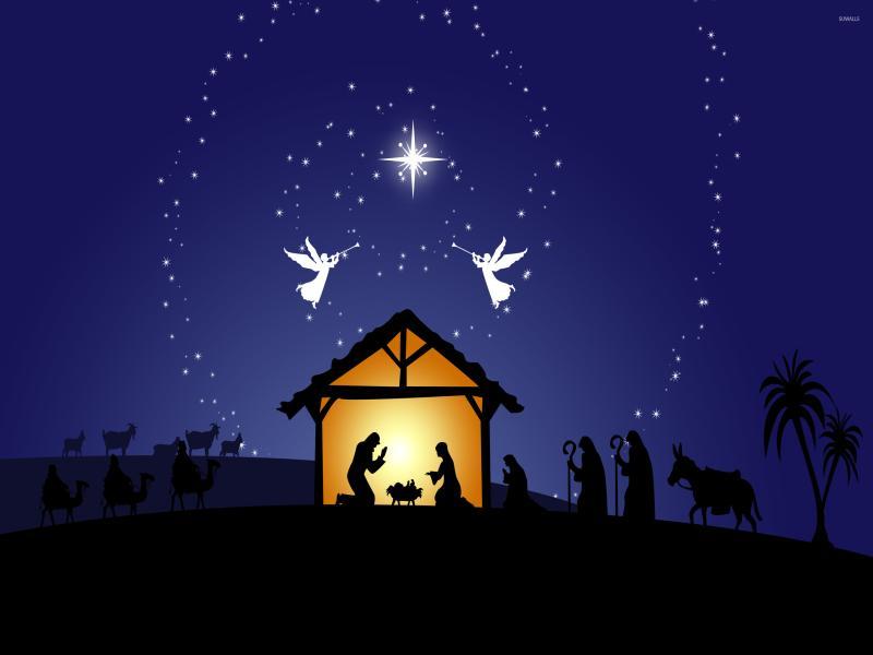 Nativity Presentation Backgrounds