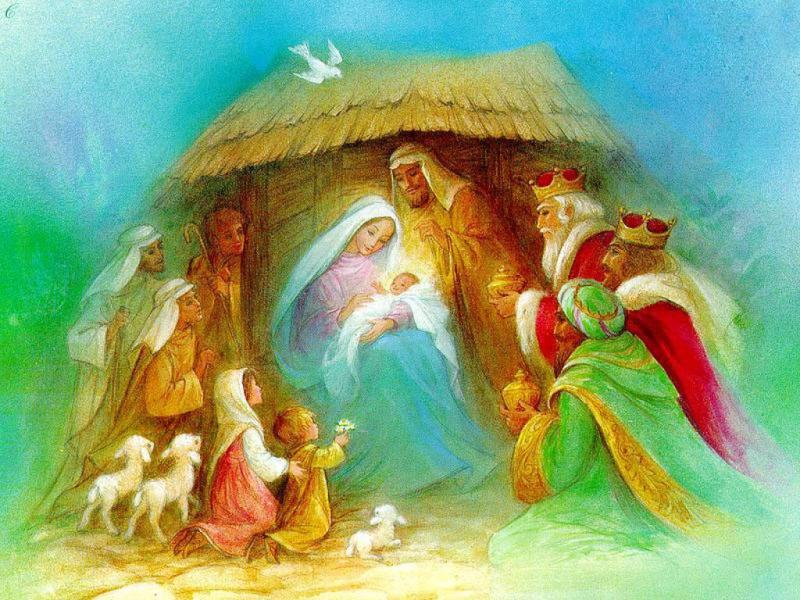 Nativity Template Backgrounds