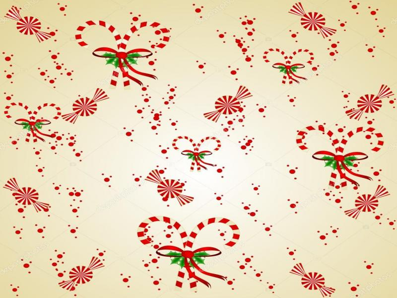 Natural Candy Cane Clip Art Backgrounds