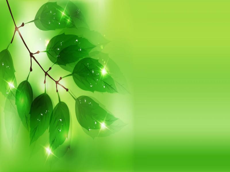 Natural Green Art Backgrounds